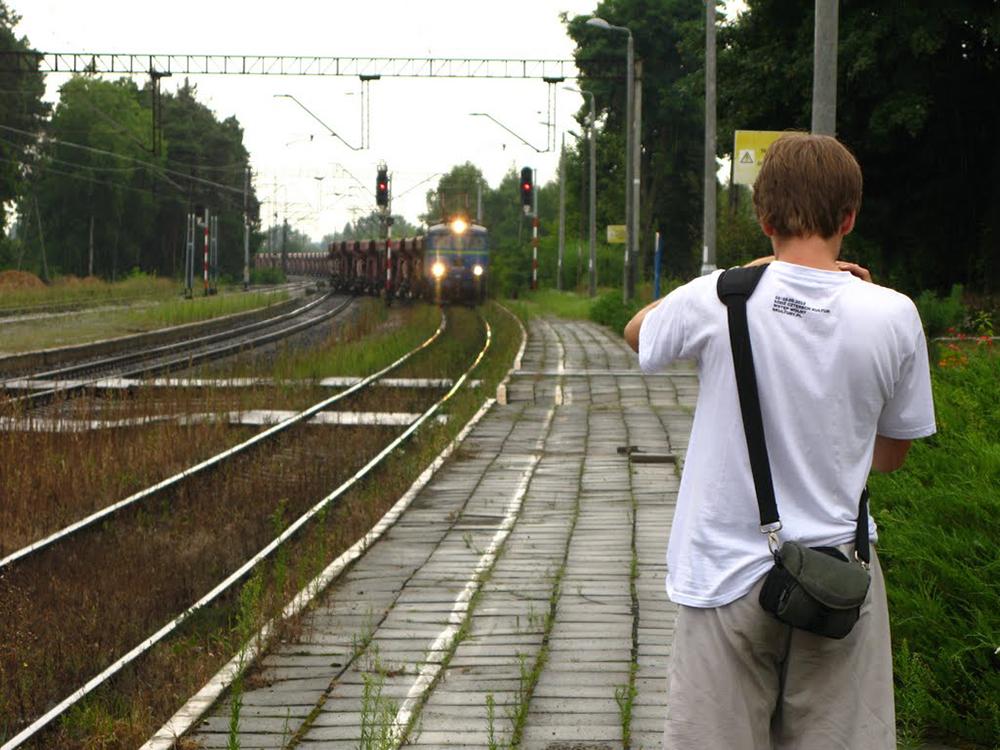 Foto3 - filmowanie pociągu towarowego